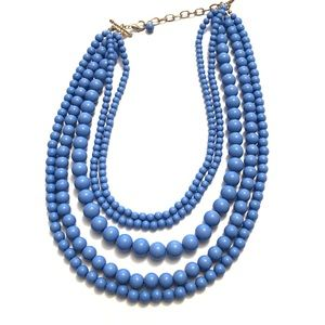 2FOR$15 🌴Cornflower  Beaded Layered Necklace